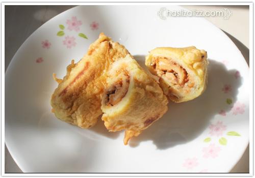 12438742655 afd2444456 o roti sardin gulung goreng untuk adik |  resepi roti Gulung Sardin