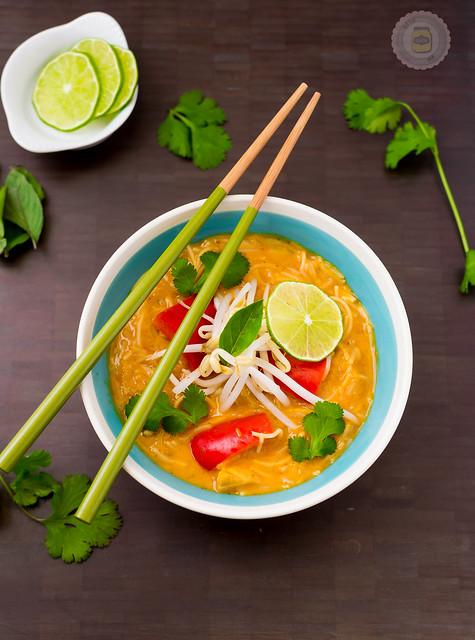 Crockpot Thai Chicken Coconut Soup Final