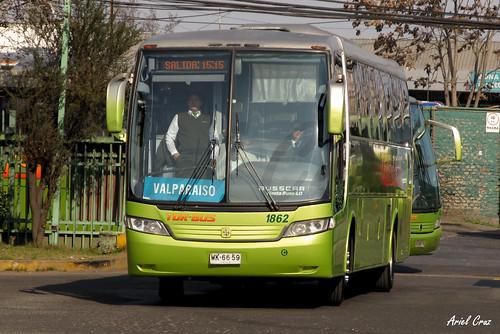 Tur Bus en Santiago | Busscar Vissta Buss LO - Mercedes Benz / WK6659