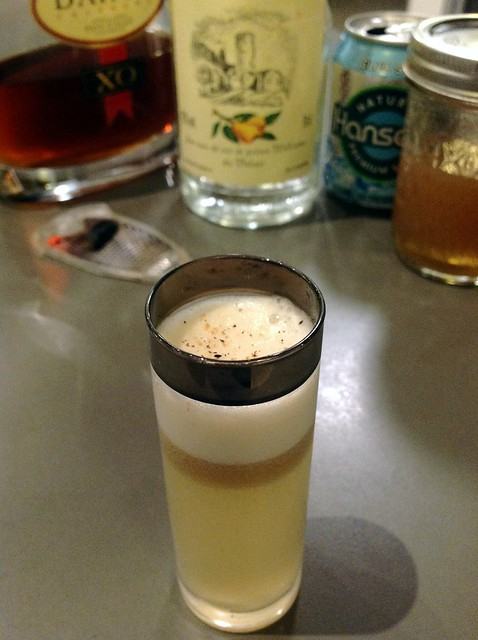 Williams Fizz variation for MxMo Sours