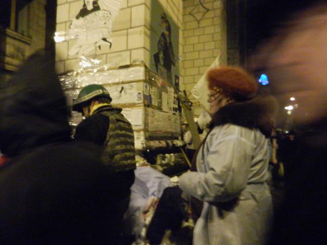 В ночь на 19 февраля. Штурм Майдана