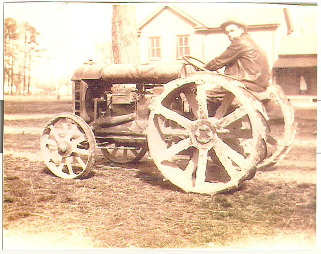 Photo courtesy of the Cape Charles Historical Society.  Modern innovations in farming made a big difference for farmers.