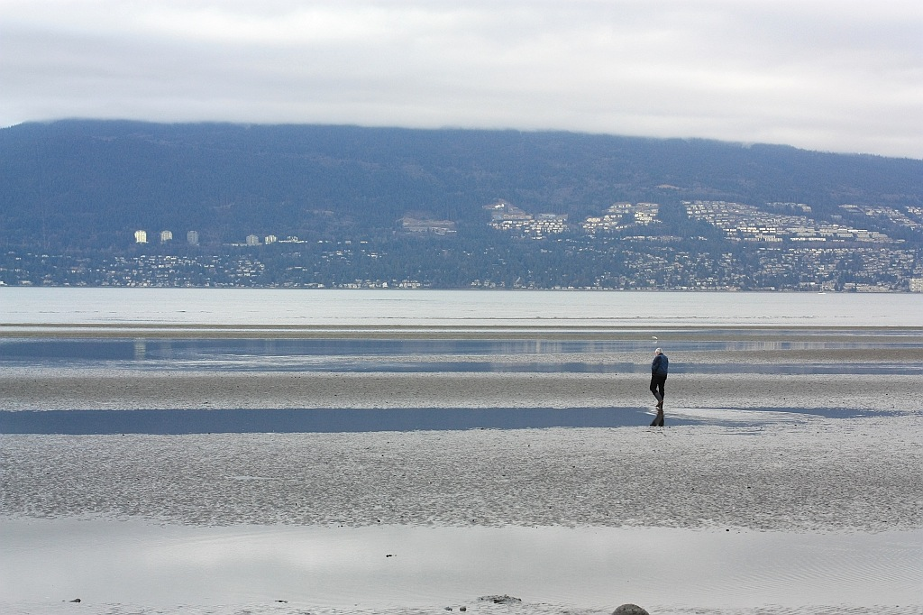 Spanish Banks, Salish Sea, English Bay, Vancouver, BC, Canada