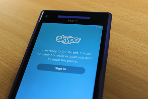 Skype on Windows Phone