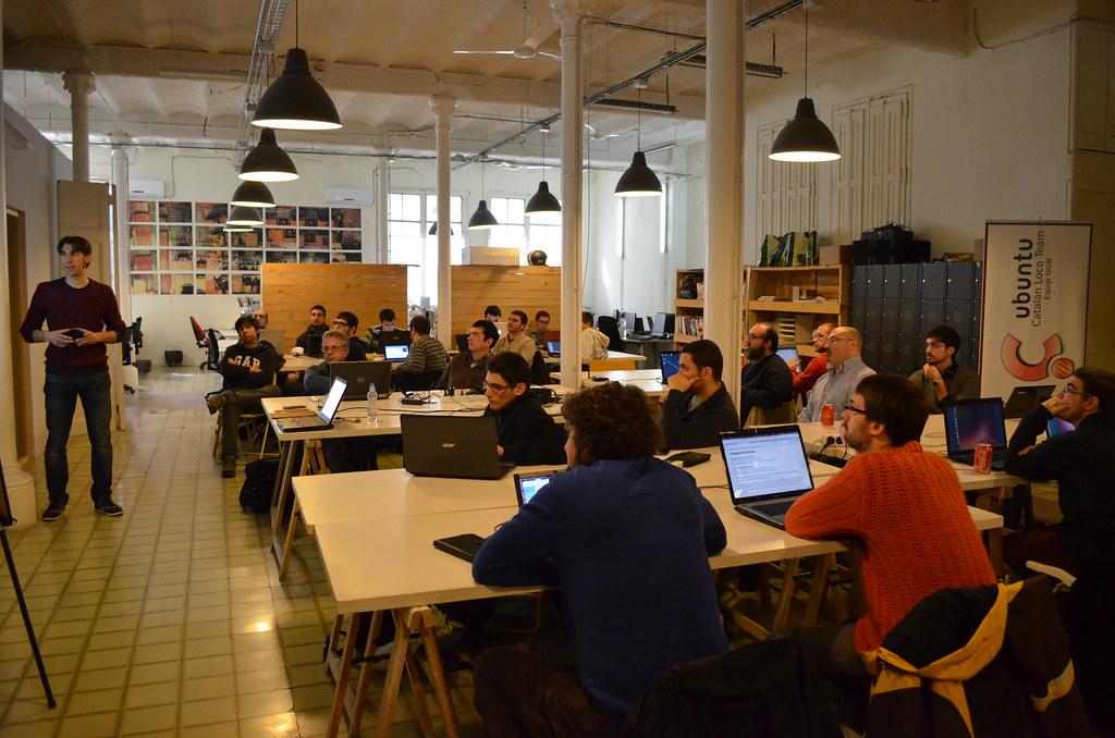 Escola d'aplicacions Ubuntu a Barcelona