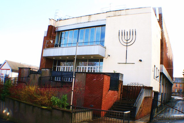 Giffnock Synagogue, Glasgow Southside, Scotland
