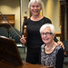Pianist, Carol Lou Woodward and Violinist, Caroline Klemperer Green