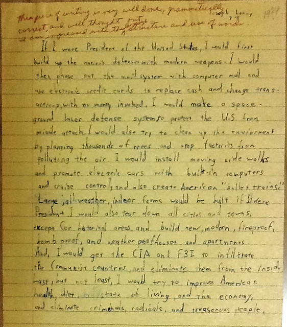 Thesis Statement In An Essay If I Were President   From Flickr Via Wylio Narrative Essay Example For High School also Thesis Statement Examples For Persuasive Essays Guest Post Template For Making Teacher Comments On Tok Essays  Topics For A Proposal Essay