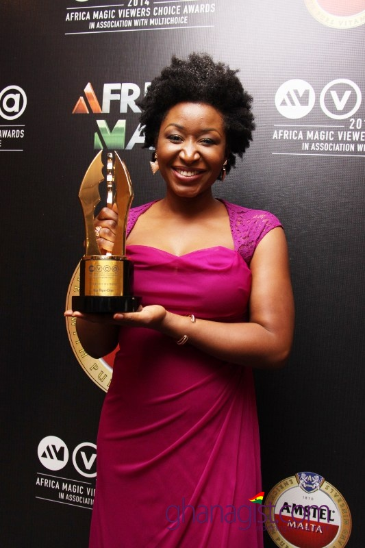 Ashionye Michelle Raccah on behalf of Nse Ikpe Etim Best Actress Drama