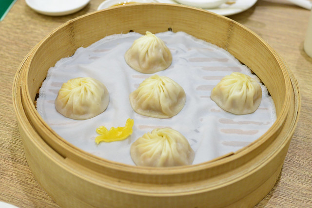 pork and crab roe xiao long bao
