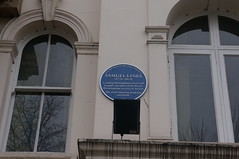 Photo of Samuel Lines blue plaque