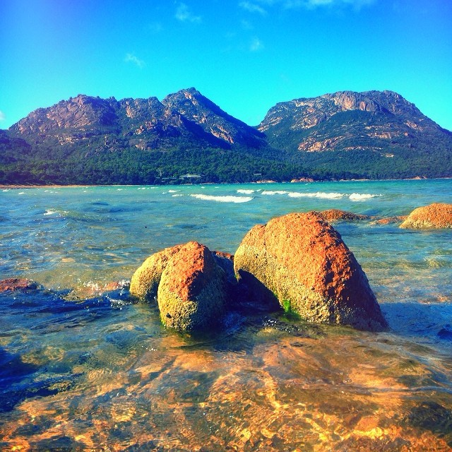 The Hazards + Mini Hazards. || #freycinet #thehazards #tasmania #instatassie