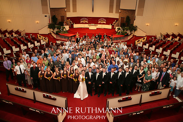 Large Group Wedding Photo 7
