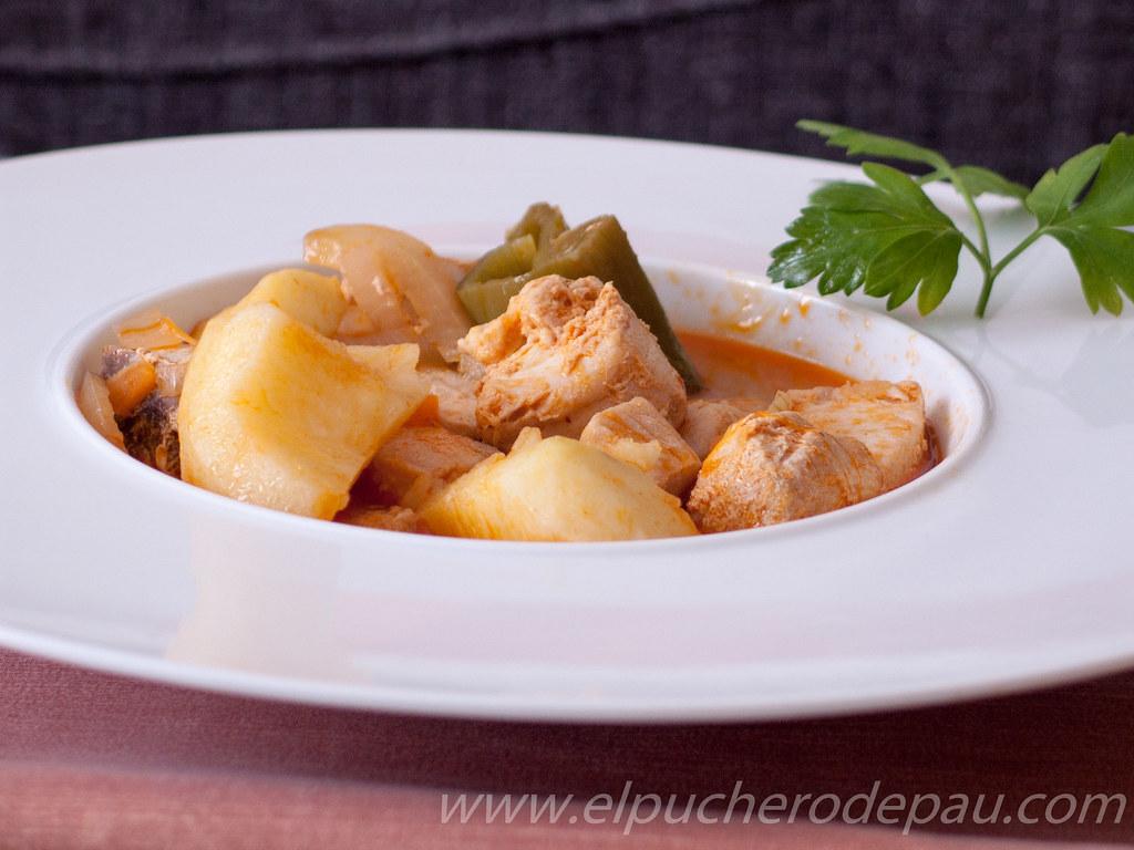 Marmitako de Atún – La receta