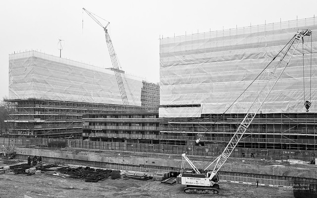 Demolition of The Heygate