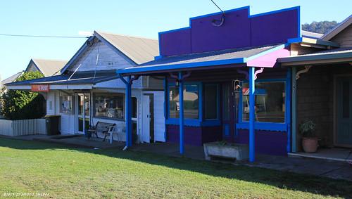 Krambach Post Office & Unidentified Shop, Krambach,  NSW