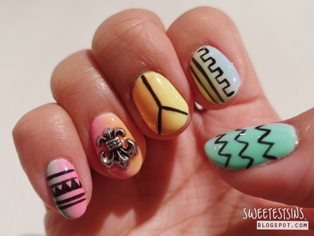 nailz treats bedok mall gellyfit manicure nail art review