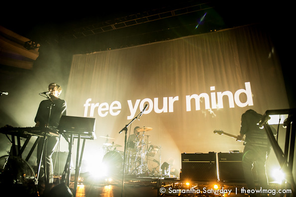 Cut Copy @ Hollywood Palladium, LA 4/1/14