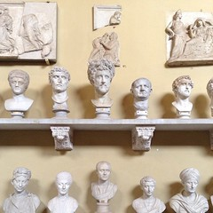 Hall of busts at the Vatican museum. #rome #travelgram #artthursday
