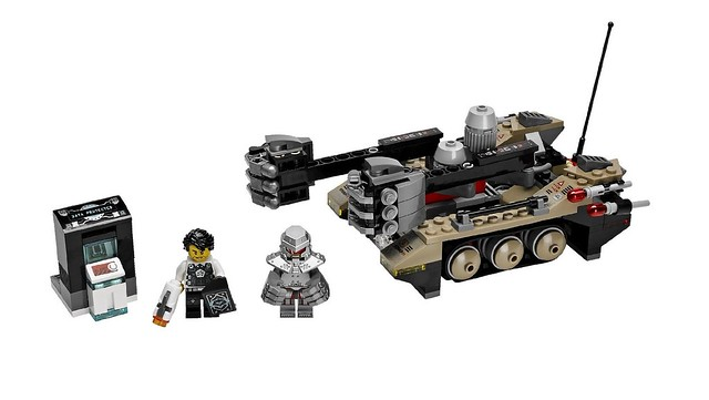 LEGO Ultra Agents 70161 - Tremor Track Infiltration