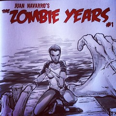 Another amazing Jude Millien cover of #zombie years done for Midnight Sandwich! #sketchcover #comics @cinebistro