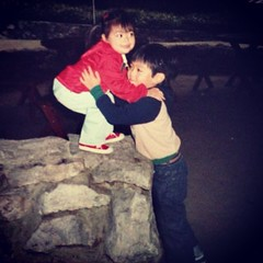 No matter how old we grow, you'll always be my big bro. Happy #NationalSiblingsDay @gregwong!