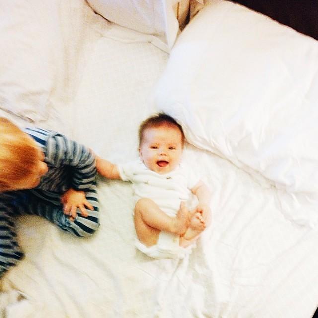 Happy baby #Shiloh