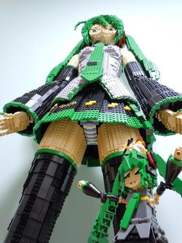 140416(2) - 構想&製作時間長達8個月、日本網友「terebi」親自打造 158cm 等身高「初音未來」LEGO模型! 2 FINAL