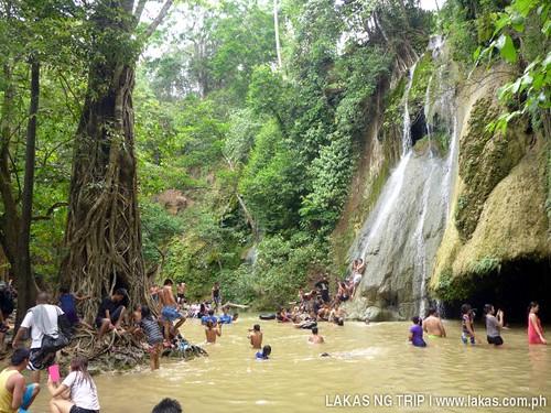 Batlag Falls in Tanay, Rizal