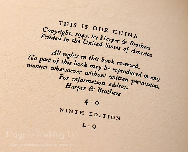 Our China copyright