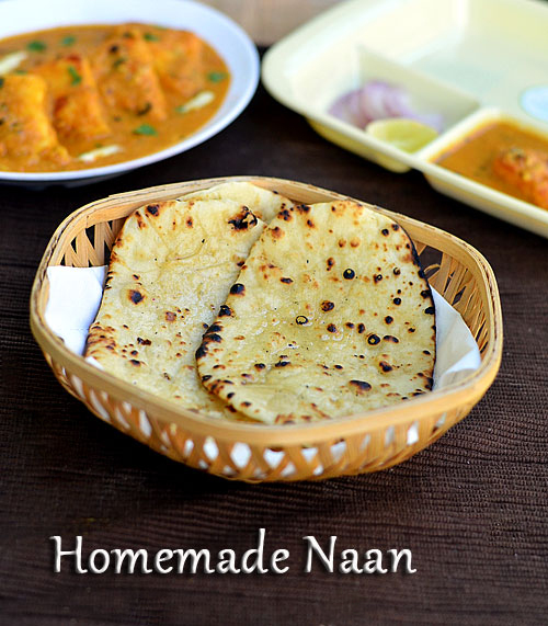 homemade naan recipe without yeast