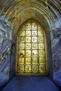 Great bronze door of Bok Tower - Lake Wales