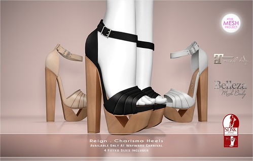 REIGN.- Charisma Heels