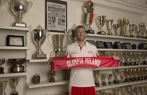 Primo giorno milanese per Robbie Hummel