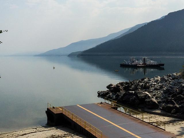 Waiting the Ferry - Arrow Lake