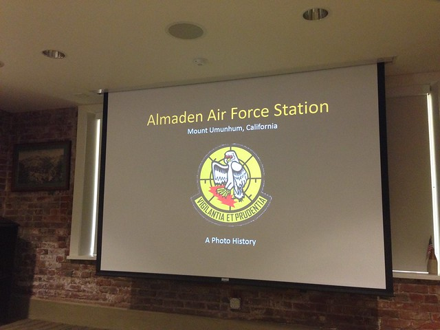 Almaden Air Force Station Talk