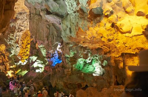 【写真】世界一周 : ティエンクン鍾乳洞