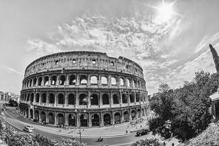 Roma - Colosseo - Colosseum - Colisée