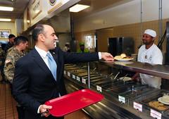 Congressman Jimmy Panetta tours Presidio