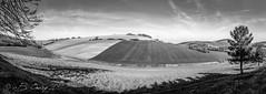 Panorama campagne Haut-garonnaise, à Marliac