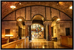 Washington DC ~  Basilica of the National Shrine of the Immaculate Conception ~  Crypt Church Sacristy