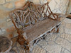 driftwood bench... by Baja Juan