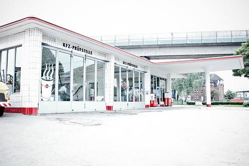Oldtimer Tankstelle HH #7612