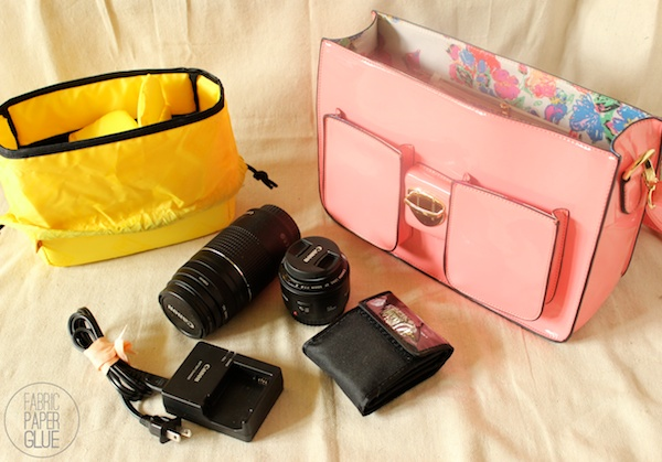 Fabric Paper Glue | My Awesome Camera Bag