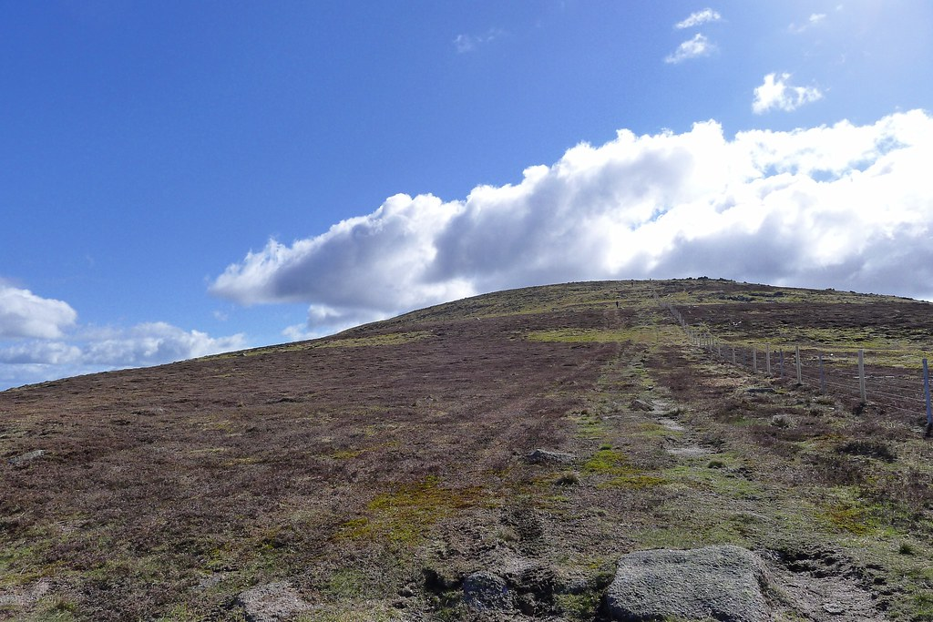 Summit of Mount Battock