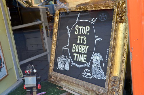 Stop. It's Bobby Time.
