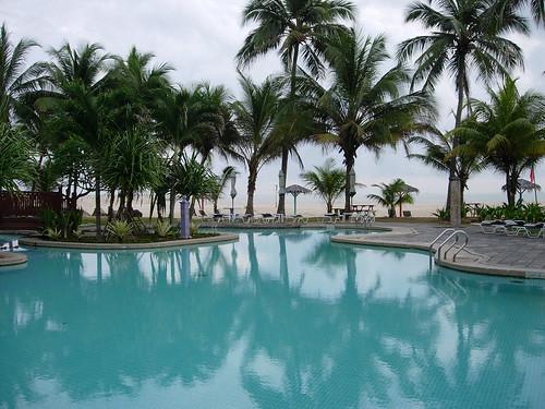 Pool at Primula Hotel Terengganu