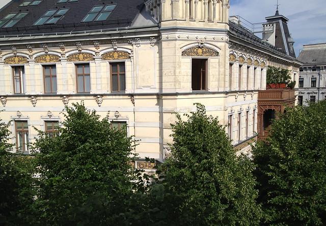 Margaretenhof von oben