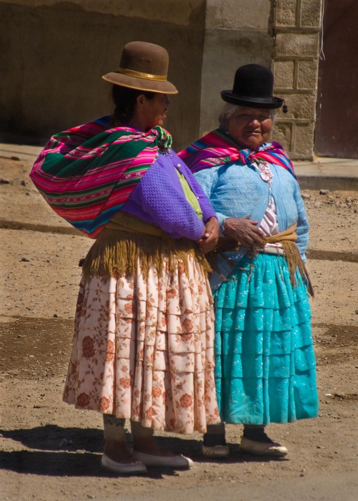 Aymara Woman, El Alto, Bolivia