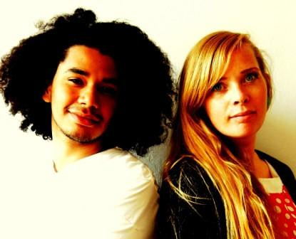 Artists Pernille and Kahlil FOTO DKI